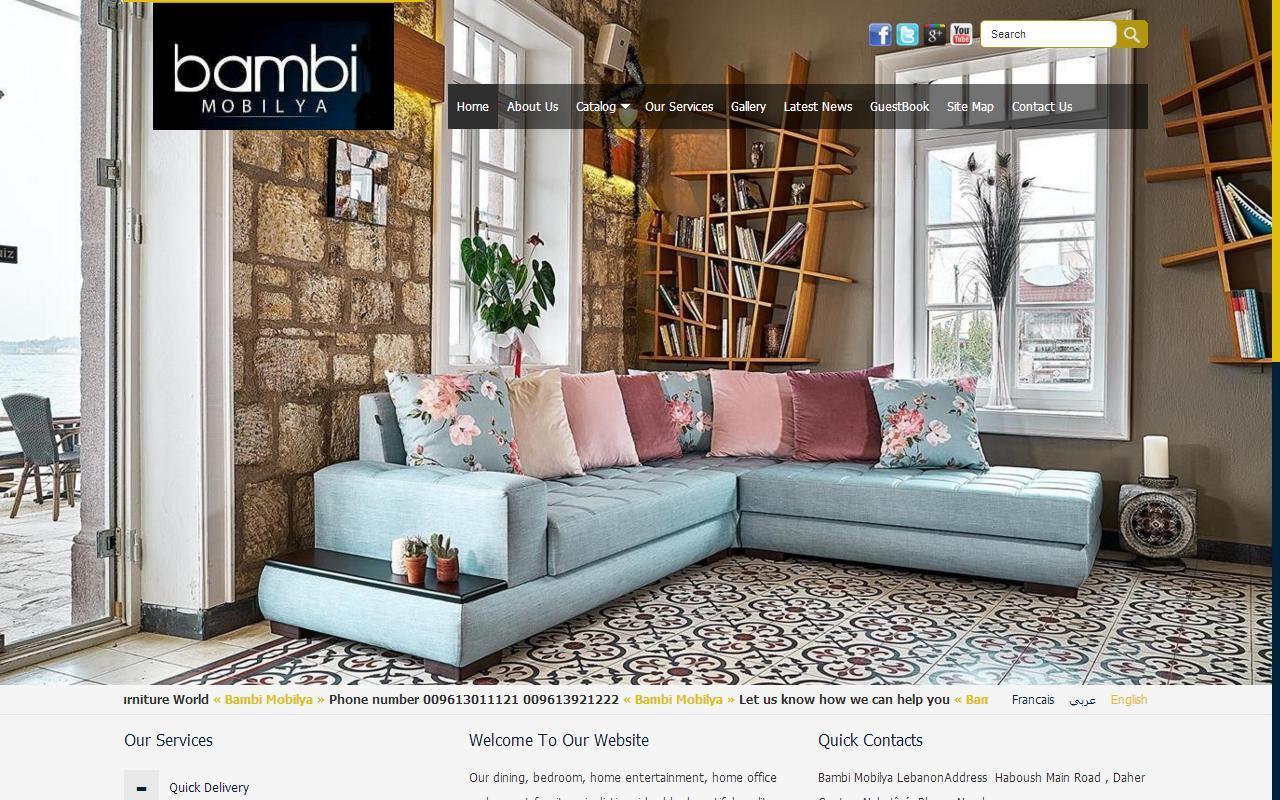Bambi mobilya hosting in lebanon earlyhost hosting for Mobilya design